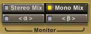 Stereo-Mix wird zu Mono summiert